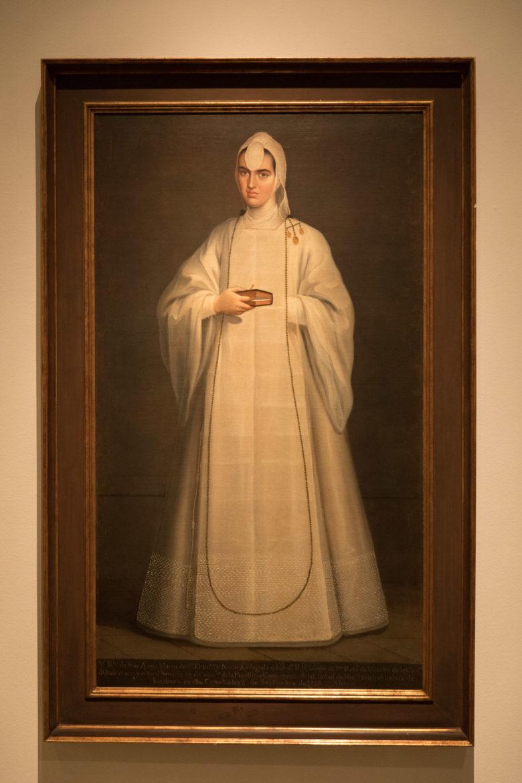 Sor Ana Maria de San Francisco y Neve 1760, artist unknown.