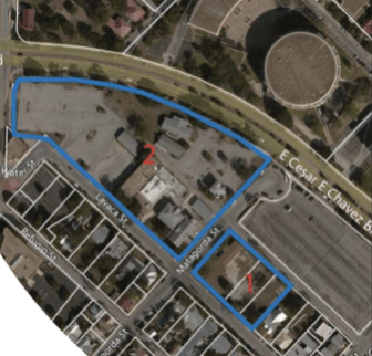The SAISD board voted Tuesday night to sell property along Lavaca Street to the developer behind of the Pearl Brewery for $14.5 million. The property includes 141 Lavaca St., 211 Lavaca St., 215 Lavaca St., and 620 Matagorda St.