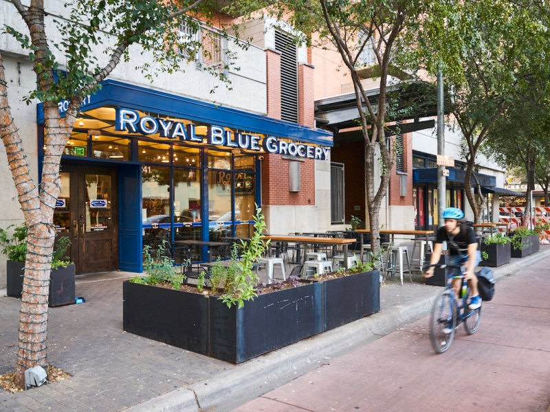 Weston Urban announced Royal Blue Grocery's next location will be in downtown San Antonio, on the ground level of the Savoy Building on Houston Street.