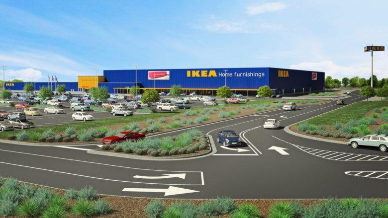 A rendering of IKEA being built in Live Oak, Texas just North of San Antonio.