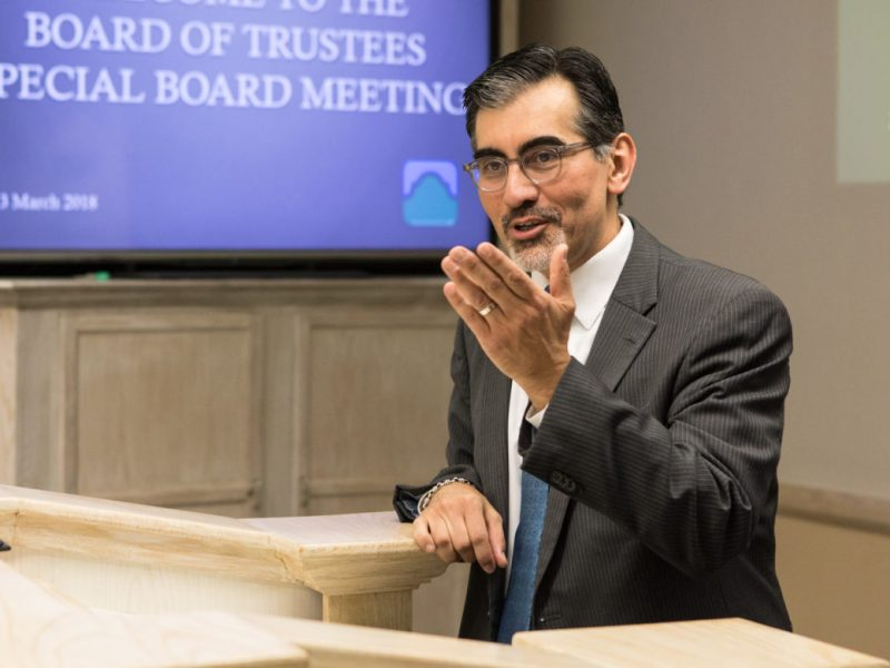 """Ruben Michael """"Mike"""" Flores will take over as Alamo Colleges chancellor on Oct. 1 after being unanimously approved Saturday by the community college district's board."""