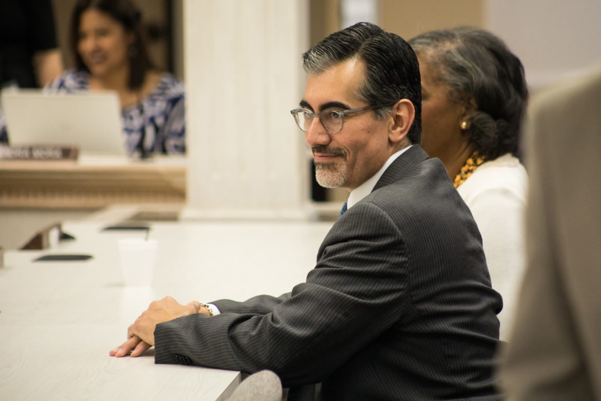 Mike Flores will take over as Alamo Colleges chancellor on Oct. 1.