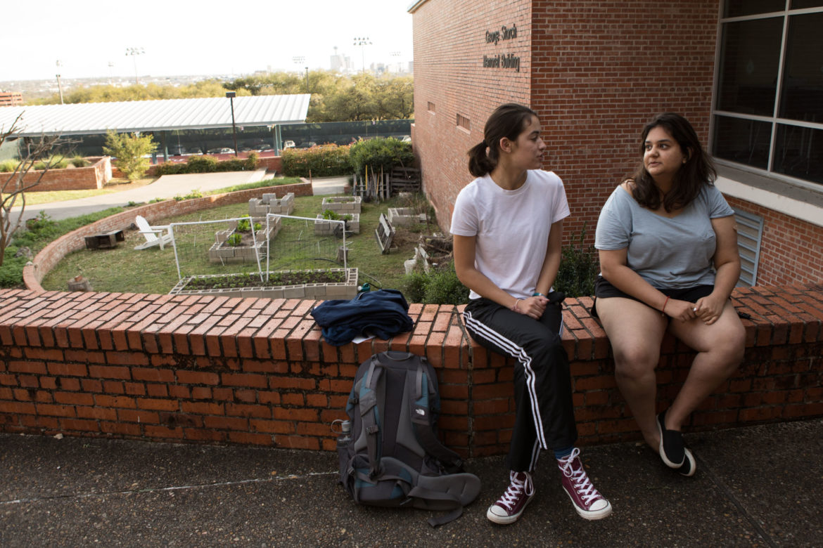 Trinity University students Gabriella Garriga and Arianna Siddiqui comment on campus violence and sexual assault.