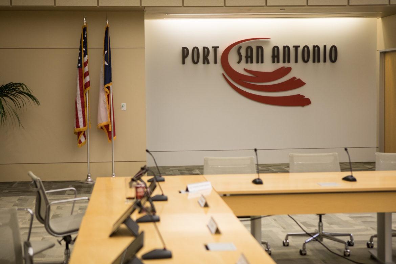 Port San Antonio board room