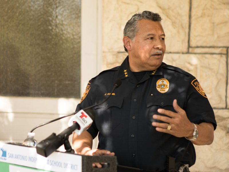 SAISD Police Chief Jose Curiel
