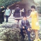 This photo of Ken Rodriguez and his mother, Blanche, was taken on May 26, 1968 at the grotto at Our Lady of the Lake University about seven weeks after the world's fair opened.