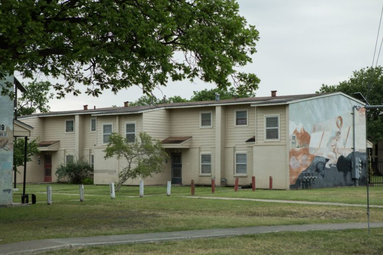 Cassiano Homes is a 65-year-old West San Antonio low-income housing complex.