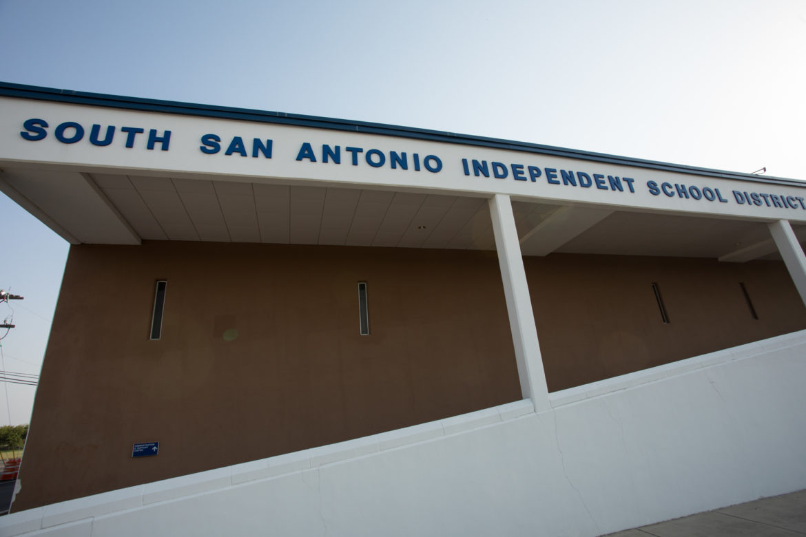 The state is set to install a monitor at the South San Antonio Independent School District.