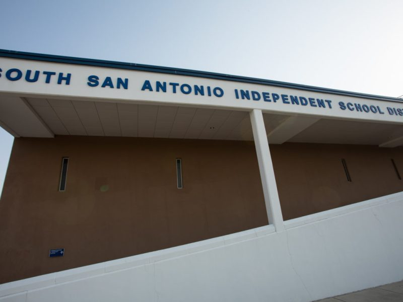 The South San Antonio Independent School District administrative building.