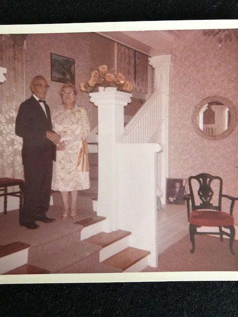 Ken Rodriguez's grandparents, Antonio and Luz Hernandez.
