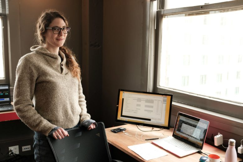 Anna Morton of Morton Gestalt will be one of the first incubator companies at EPIcenter.