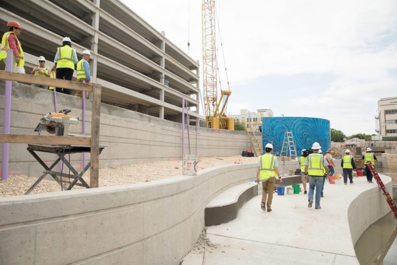 A tour held by San Antonio River Authority gave members of the media a sneak peek at the new linear park.