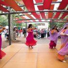 The Arathi School of Indian Dance performs a Islam prayer dance.