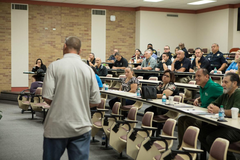 The UT Health San Antonio School of Nursing holds an opioid overdose training program.