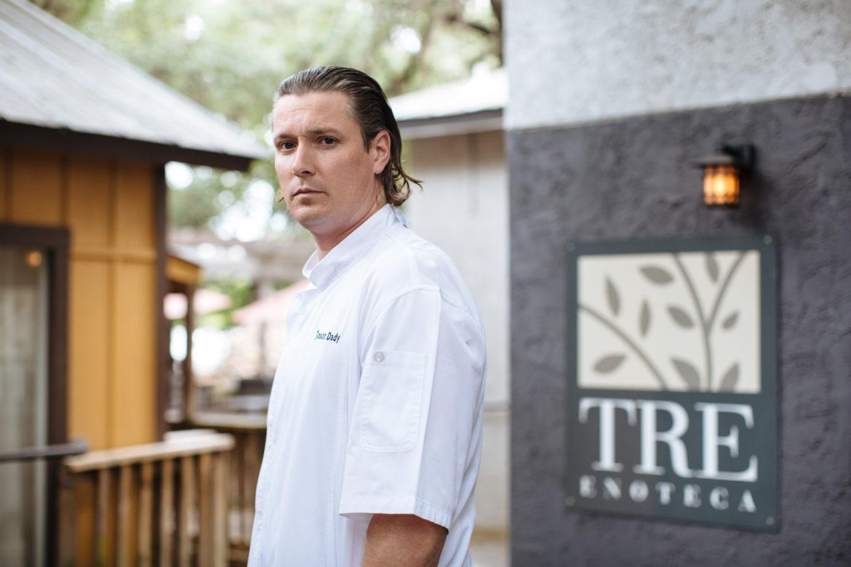 Jason Dady at Tre Enoteca
