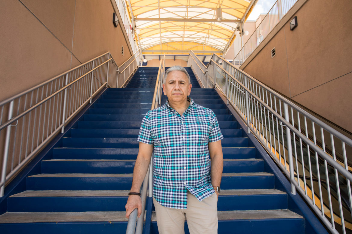 Carlos Carmona, who is HIV Positive, is an advocate for his community.