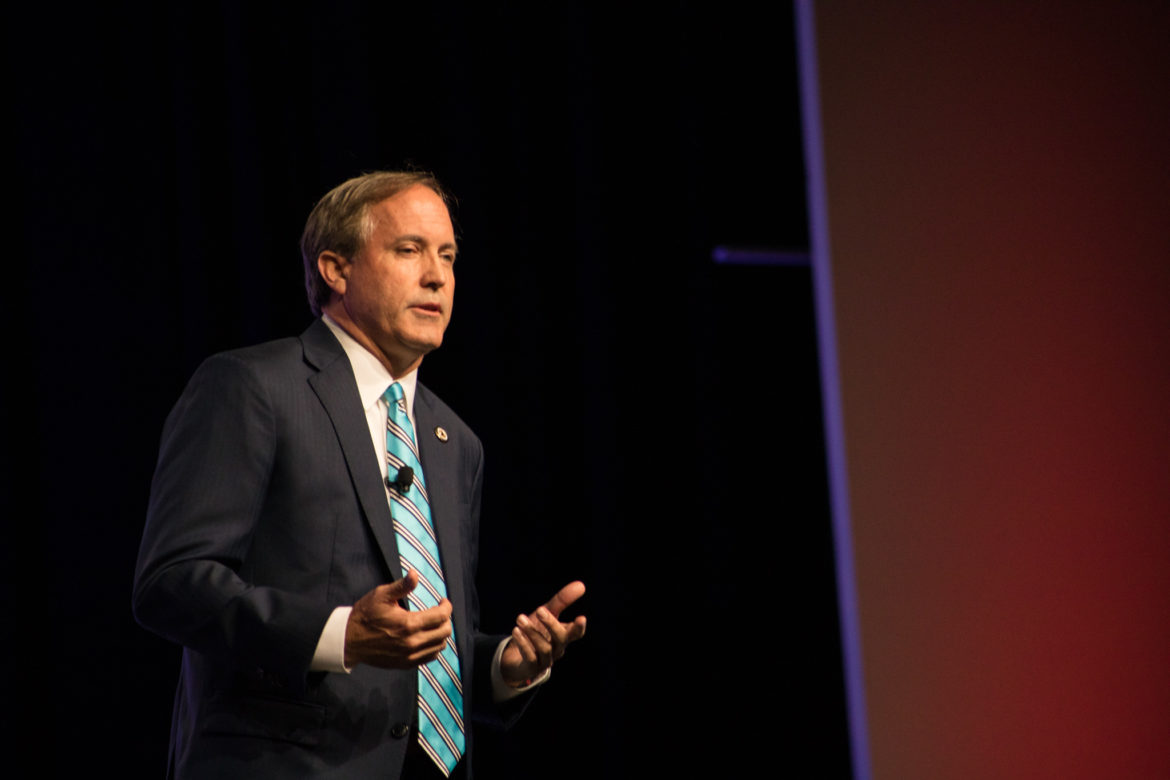 Texas Attorney General Ken Paxton asked the 4th Court of Appeals to strike down a ruling that granted San Antonio and Bexar County the ability to mandate masks in spite of a statewide prohibition.