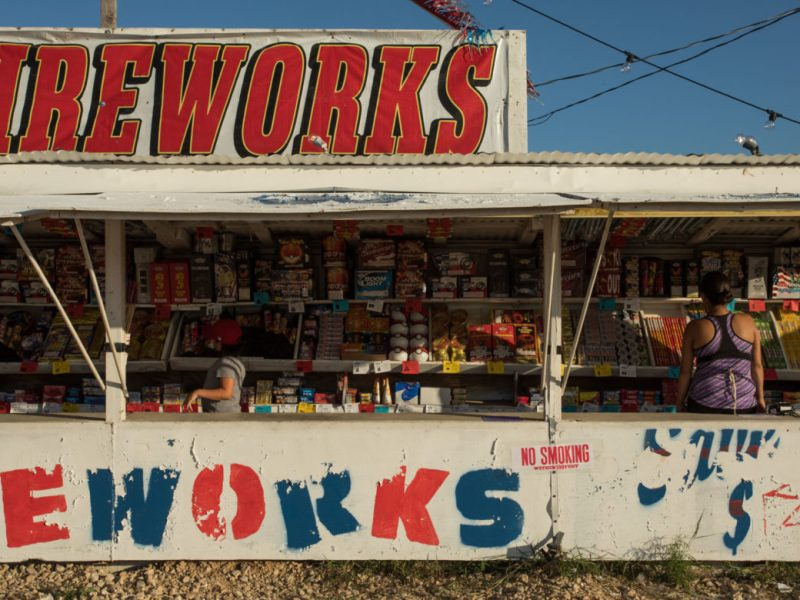 One of the Mr. W Fireworks locations is at FM 1346.