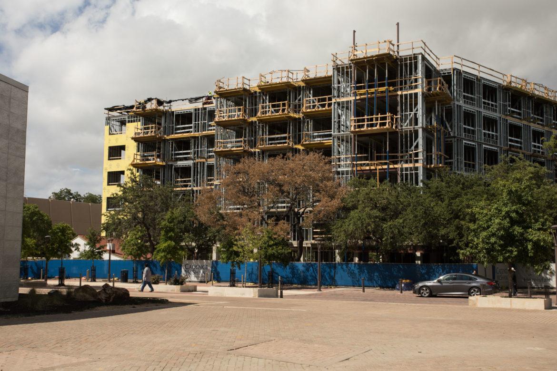 The future Hemisfair Acequia Lofts.