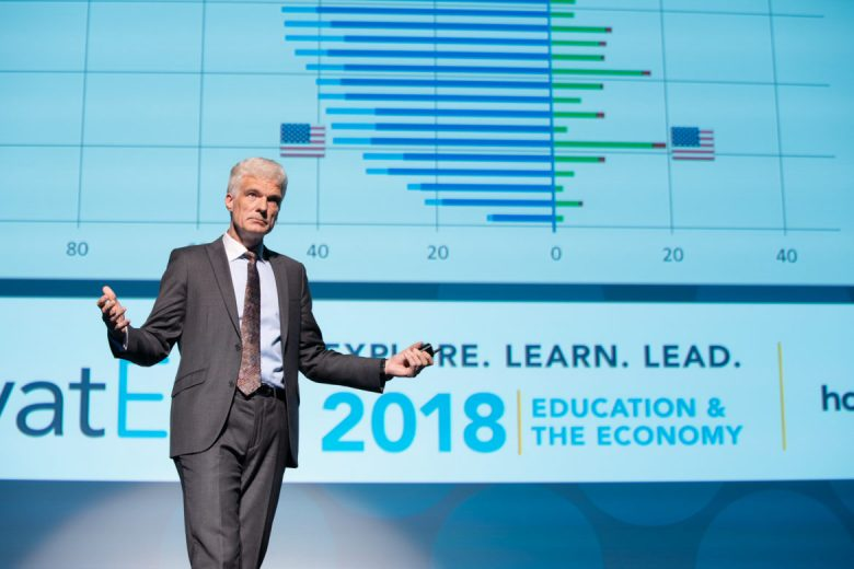 Andreas Schleicher, Keynote speaker and international education expert.
