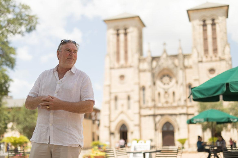 """Xavier de Richemont is the artist behind """"San Antonio the Saga."""""""