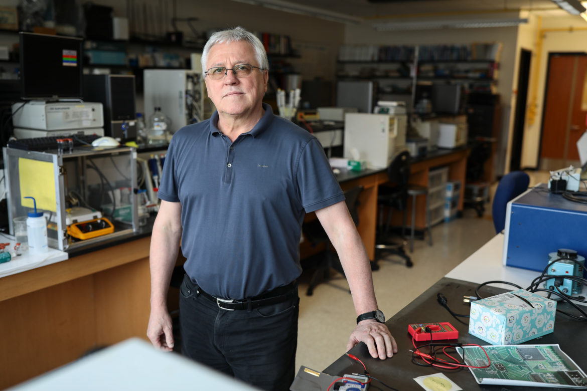 Professor and Chair of the UTSA Department of Chemistry Waldemar Gorski
