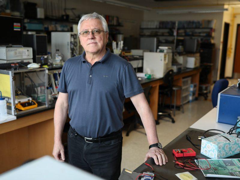 Professor and Chair of the UTSA Department of Chemistry Waldemar Gorski