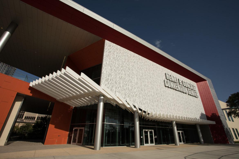 The Henry B. Gonzalez Convention Center.