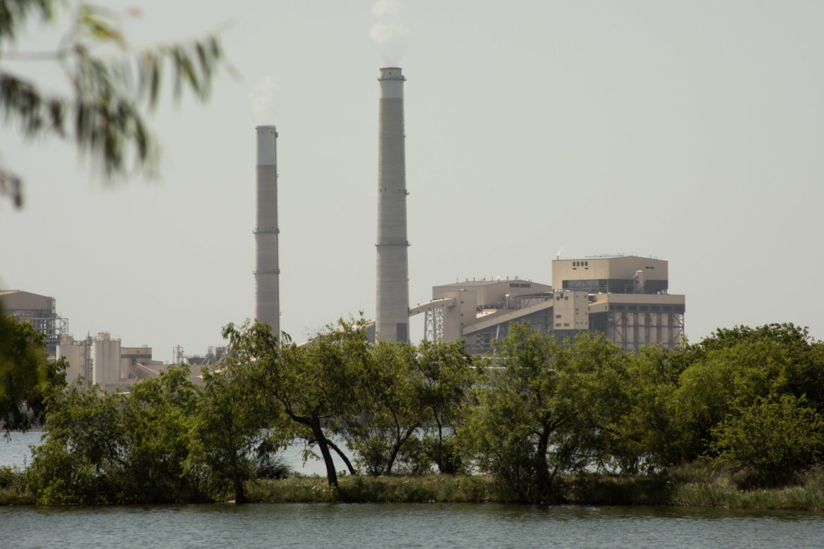 CPS Energy Calaveras Power Station hosts the Deely and Spruce coal power plants.