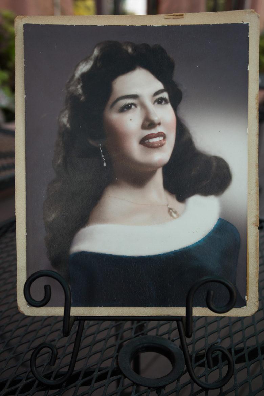 Viola Barrios as a young woman.