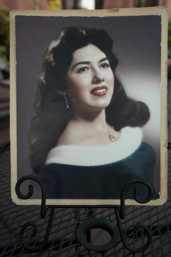 Viola Barrios as a young woman.