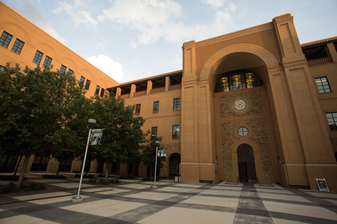 Texas A&M Central Academic Building.