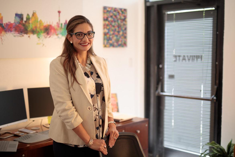 San Antonio Regional Alliance for the Homeless Executive Director Brenda Mascorro