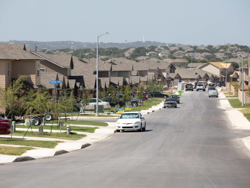 Suburban streets continue to be bought, sold, and constructed in the city's far Westside.