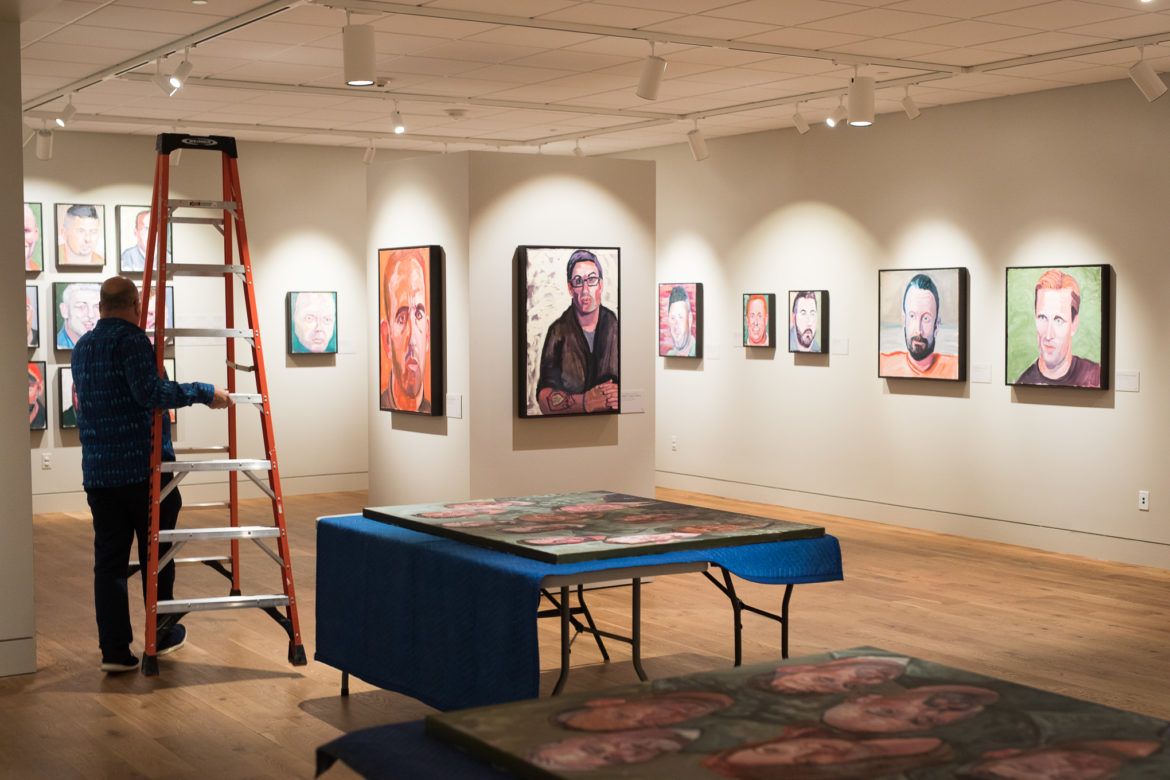 The Portraits of Courage exhibition by former President George W. Bush will run through September 30, 2018.