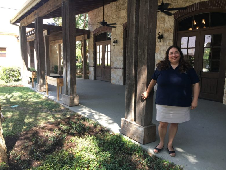 Alamo Community Group Executive Director Jennifer Gonzalez.