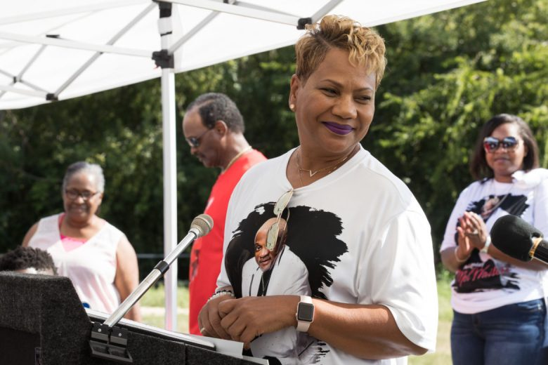 Portia Waiters speaks about the memory of her late husband, Mel Waiters.