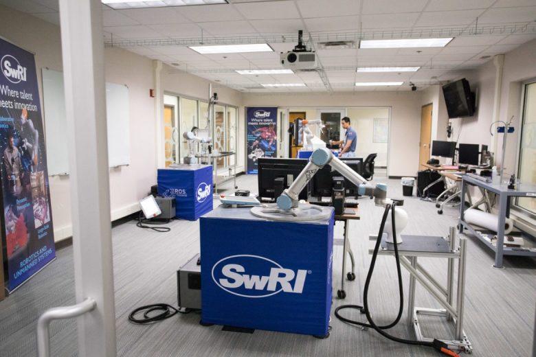 The Collaborative Robotics Laboratory at Southwest Research Institute.