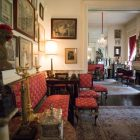The Napoleon Parlors in Villa Finale: Museum & Gardens.