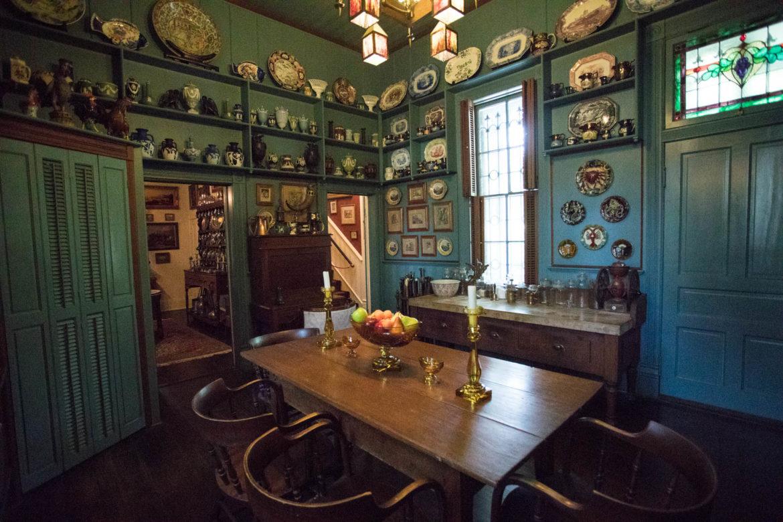 The kitchen in Villa Finale: Museum & Gardens.