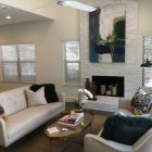 A sitting room in the 208 Grandview Townhomes complex.
