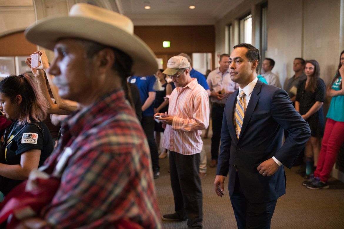 Former Secretary of Housing and Urban Development and former San Antonio Mayor Julian Castro attended and spoke in favor of the Paid Sick Leave ordinance to members of City Council.