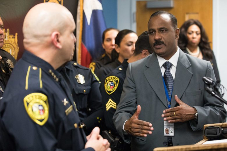 Abraham Abraham requested to be the community liaison for the Indian community in San Antonio.