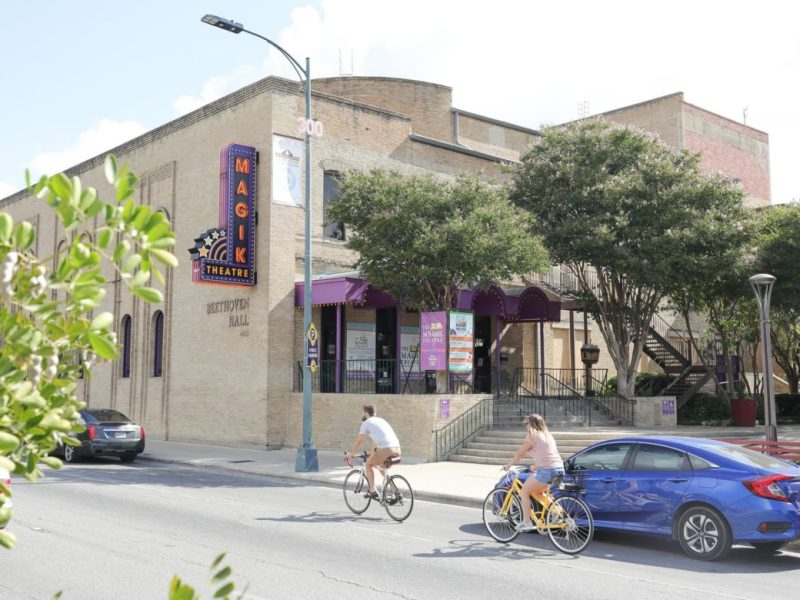 The Magic Theatre on South Alamo Street.