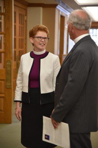"Susan Jennifer Briner, or ""Bishop Sue."""
