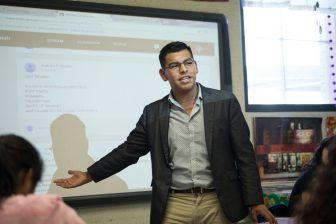 South San High School Student Council President Marc Mendiola.