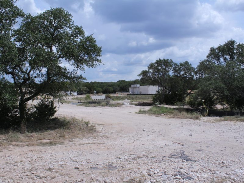 A sewage treatment plant that recycles water serves the Ventana subdivision near State Highway 46 and Blanco Road in Comal County. A consultant for the Honey Creek Ranch development says a similar water recycling treatment plant will operate upstream of the pristine Honey Creek State Natural Area.