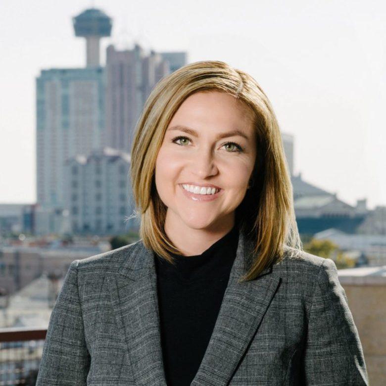 Jenna Saucedo-Herrera, president and CEO of the San Antonio Economic Development Foundation
