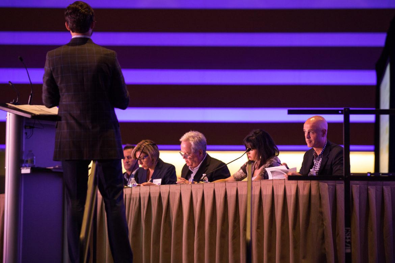 Urban Land Institute San Antonio hosts 'Developer Shark Tank' during the Mayor's Housing Summit.