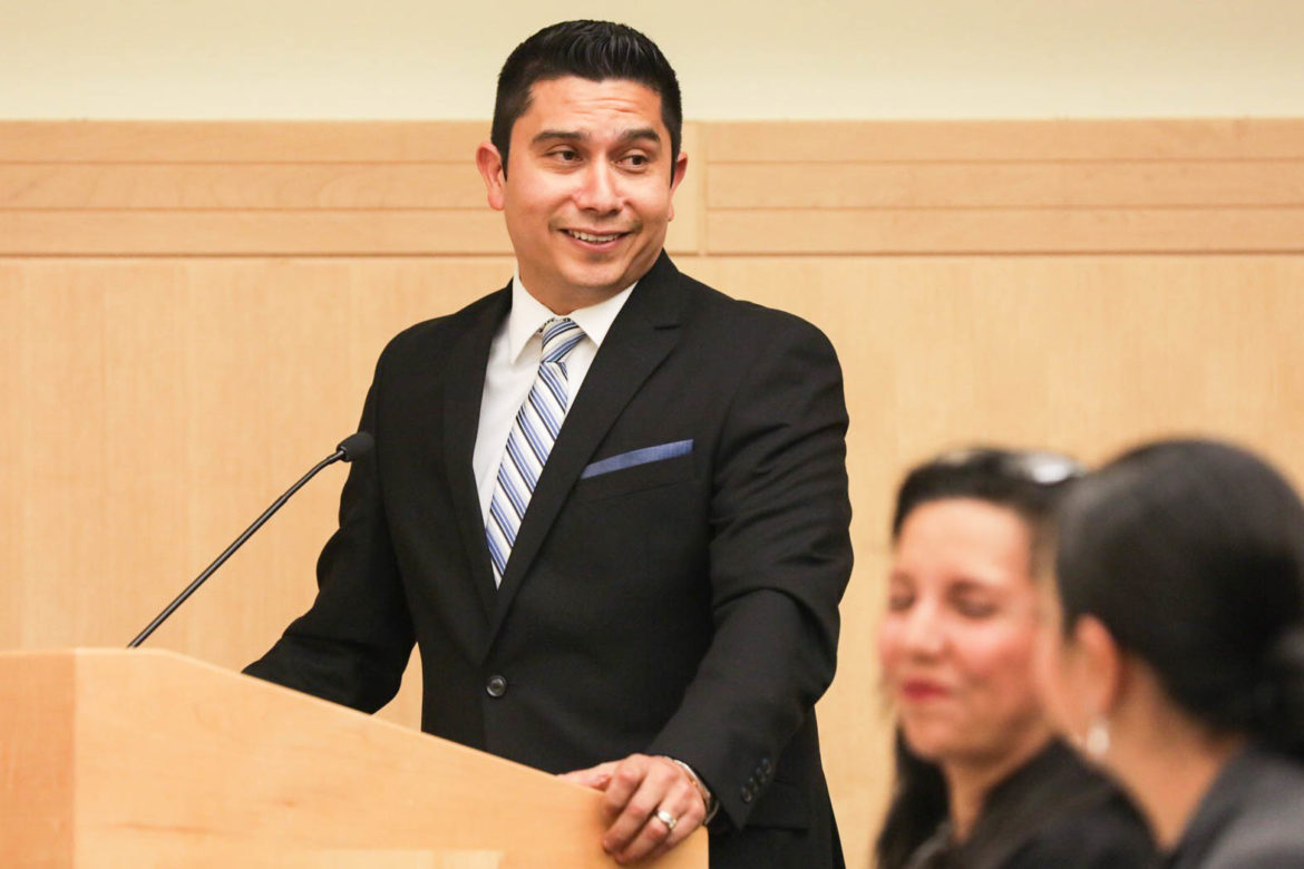 Alexandro Flores will be the new superintendent at South San Antonio Independent School District.